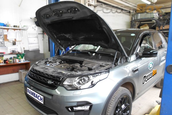 Увеличение мощности Land Rover Discovery Sport Si4